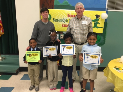 Rotary Reader winners end of school year 2016